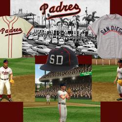 b39fc61ef San Diego Padres (PCL) Uniforms ...