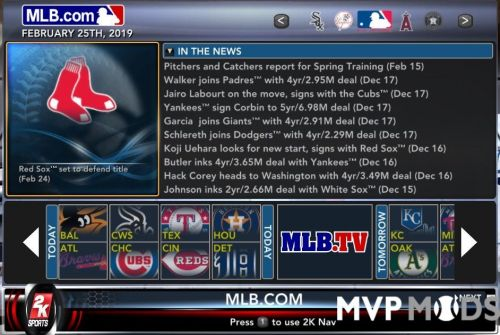 Rosters - MVP Mods