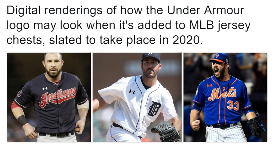 size 40 4760a 18395 Under Armour to take over as official partner of MLB ...